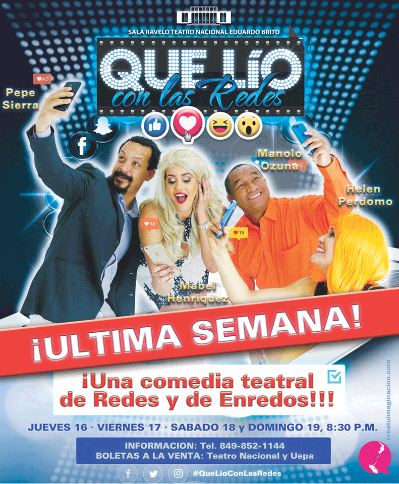 """Obra Teatral """"Qué Lío con las Redes"""""""