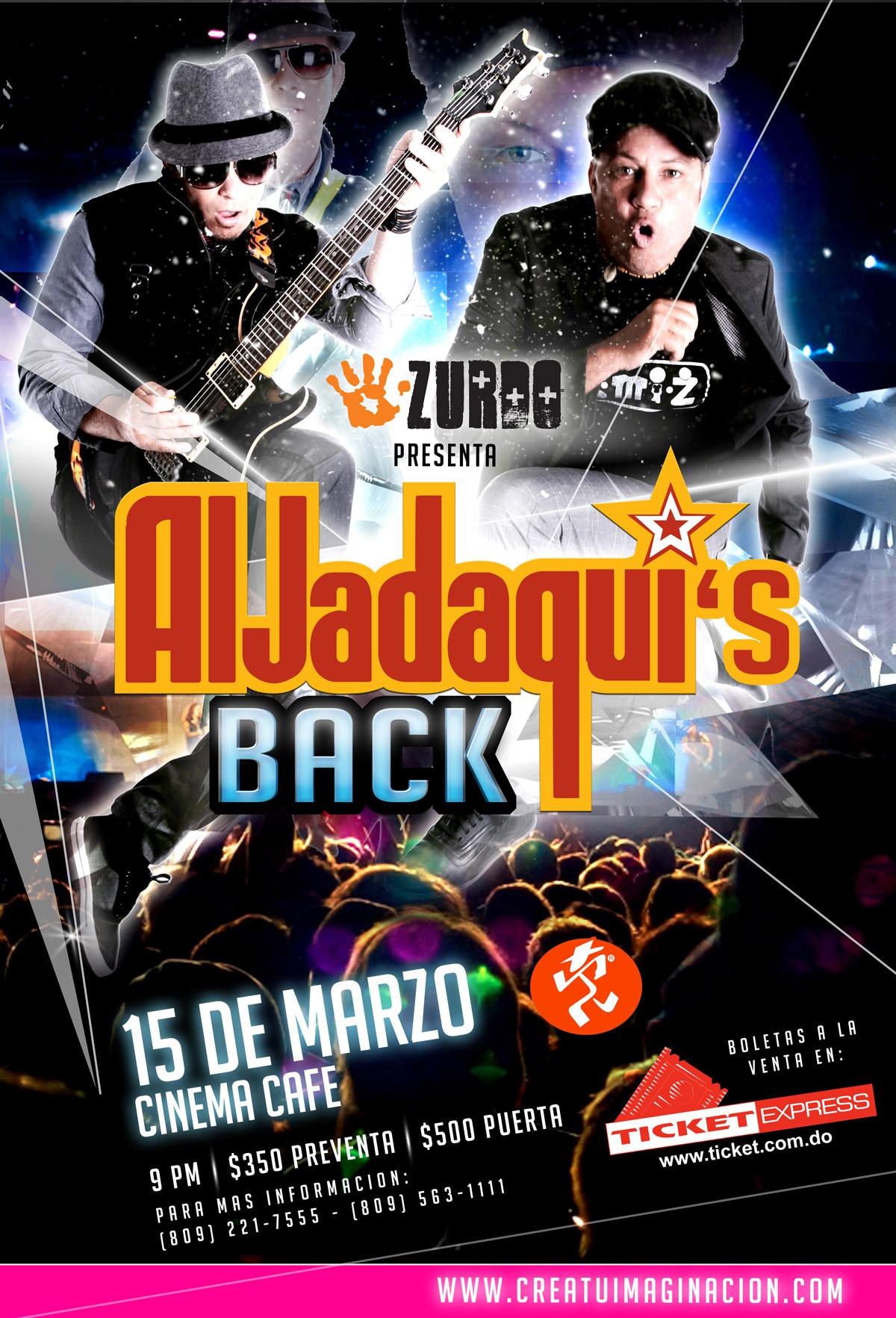 Afiche Concierto Aljadaquis
