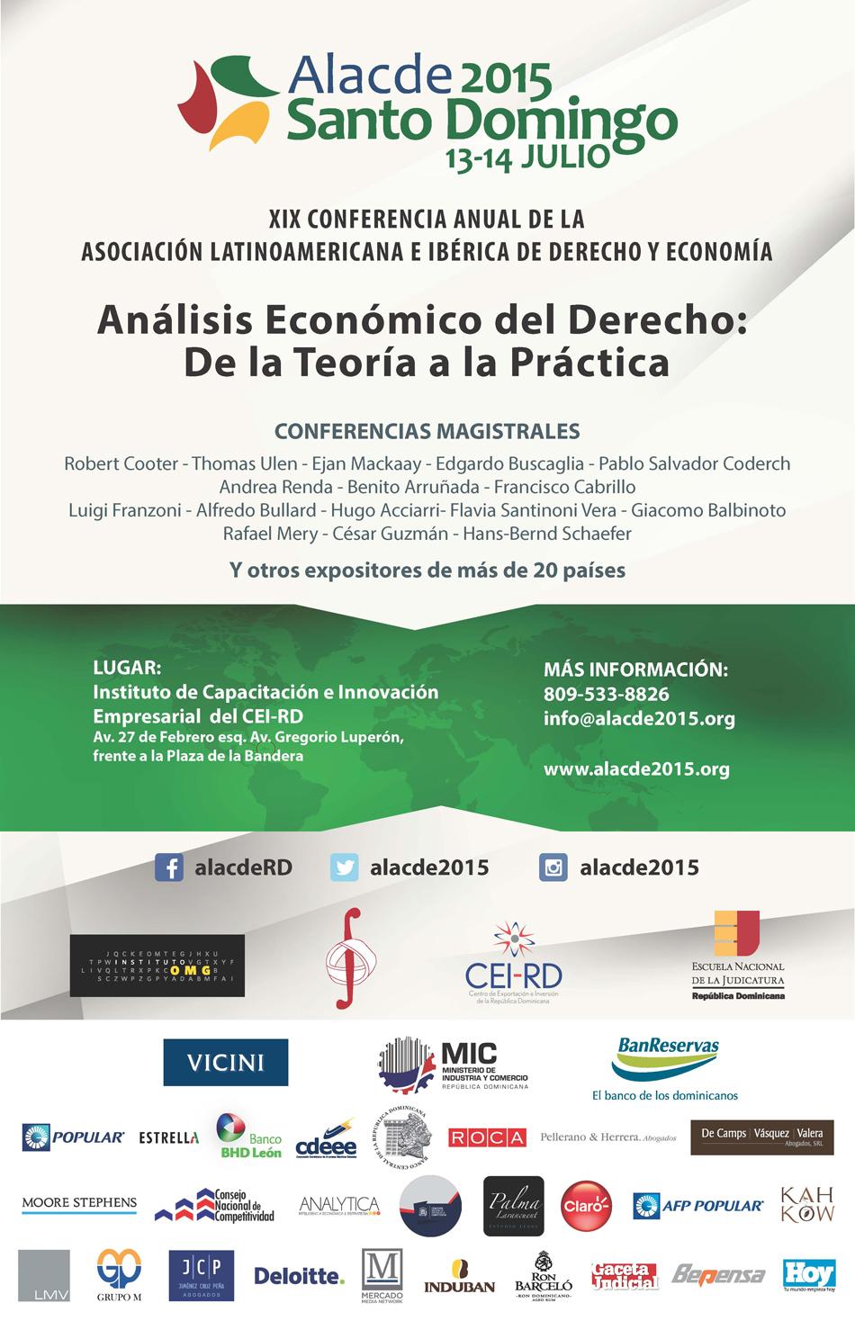 Afiche Análisis Económico del Derecho