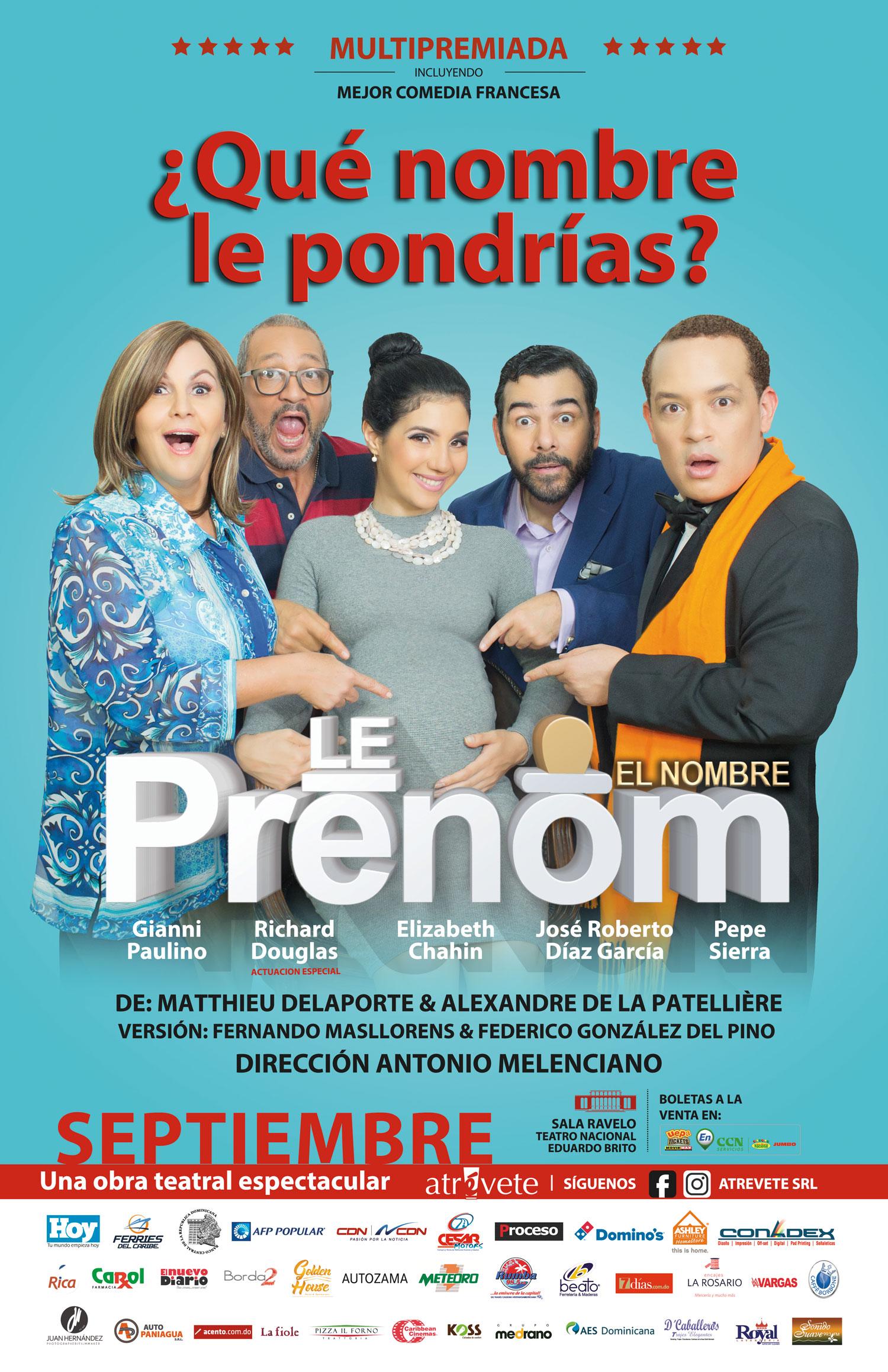 Obra Teatral Le Prenom