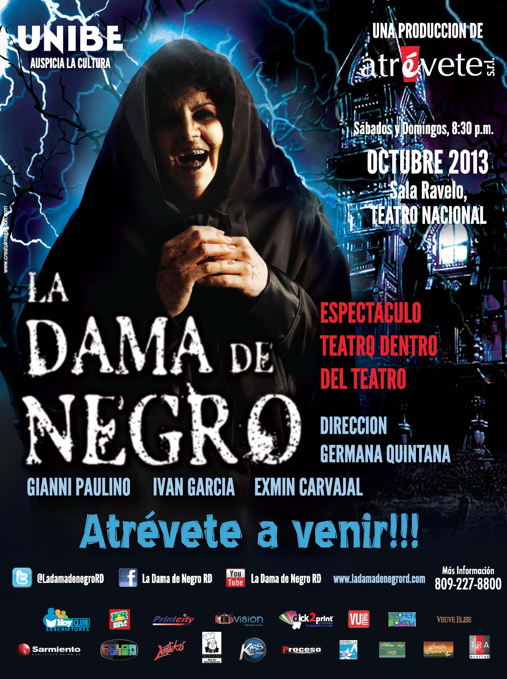 """Obra Teatral """"La Dama de Negro"""""""