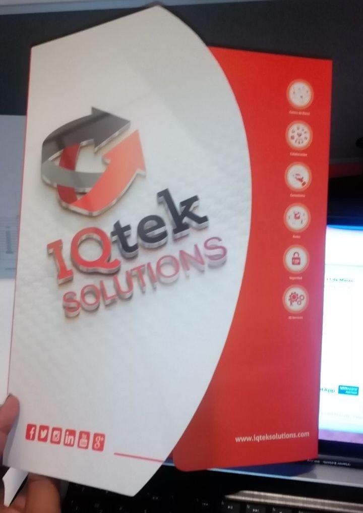 Carpeta Iqtek Solutions